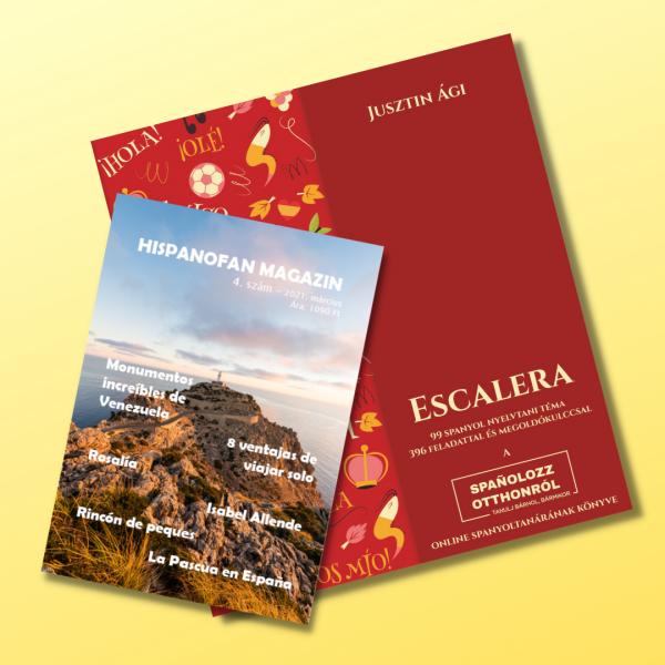 Escalera nyelvkönyv Hispanofan magazin